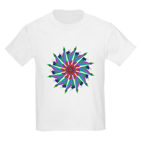 Kaleidoscope 0006 Kids Light T-Shirt