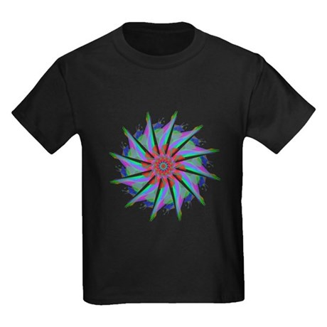 Kaleidoscope 0006 Kids Dark T-Shirt