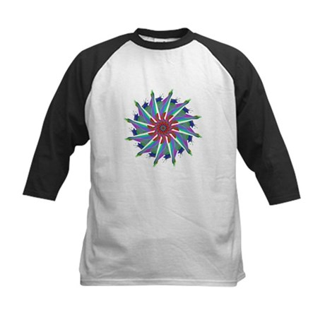 Kaleidoscope 0006 Kids Baseball Jersey