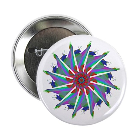 "Kaleidoscope 0006 2.25"" Button (100 pack)"