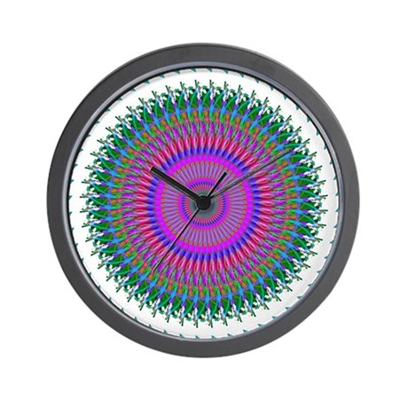 Kaleidoscope 006 Wall Clock