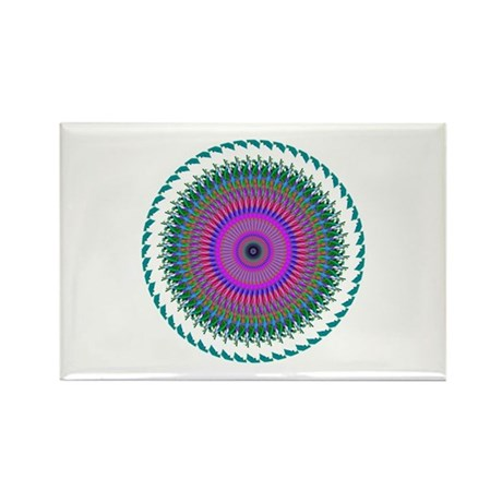 Kaleidoscope 006 Rectangle Magnet (10 pack)