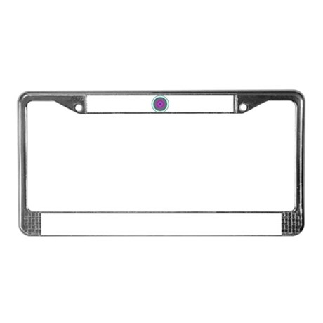 Kaleidoscope 006 License Plate Frame