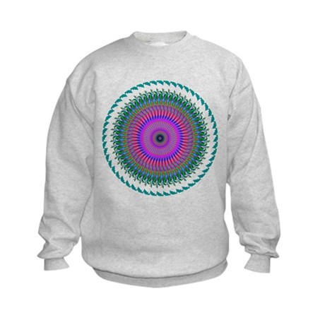 Kaleidoscope 006 Kids Sweatshirt