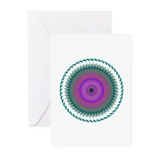 Kaleidoscope 006 Greeting Cards (Pk of 20)
