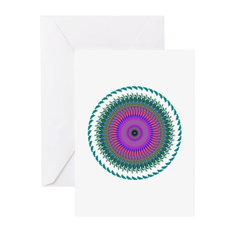 Kaleidoscope 006 Greeting Cards (Pk of 10)