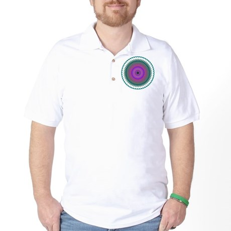 Kaleidoscope 006 Golf Shirt
