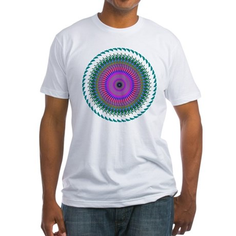 Kaleidoscope 006 Fitted T-Shirt