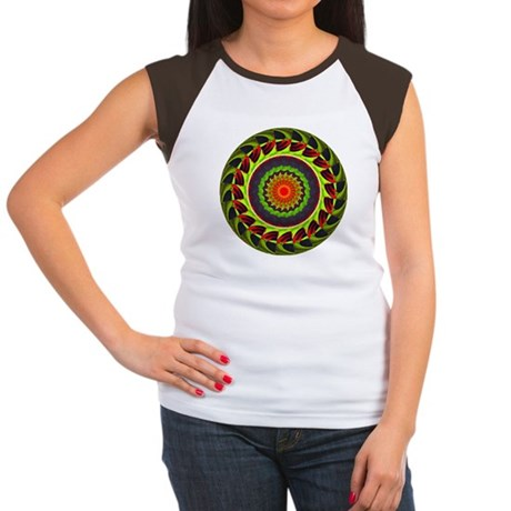 Kaleidoscope 00025 Women's Cap Sleeve T-Shirt