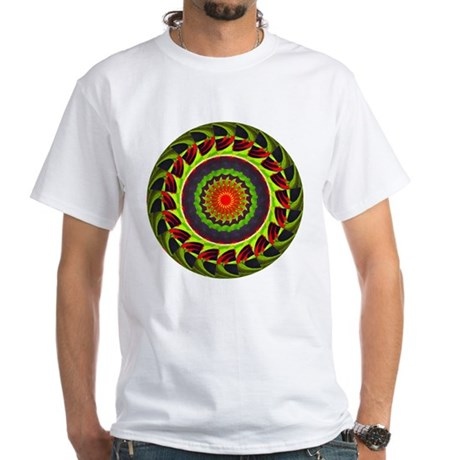 Kaleidoscope 00025 White T-Shirt