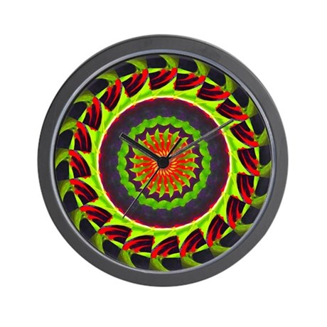 Kaleidoscope 00025 Wall Clock