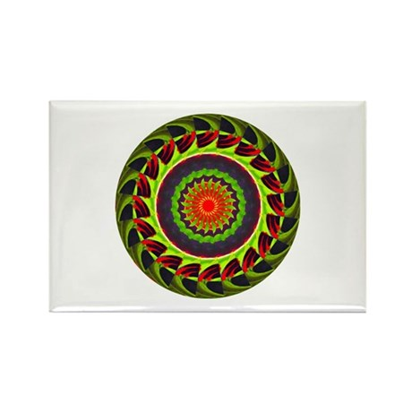 Kaleidoscope 00025 Rectangle Magnet (100 pack)