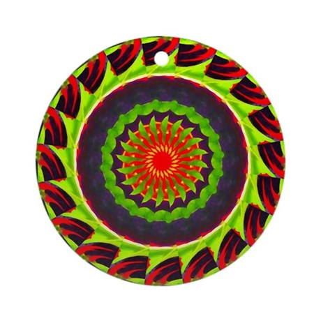 Kaleidoscope 00025 Ornament (Round)