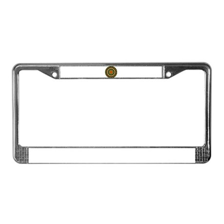 Kaleidoscope 00025 License Plate Frame