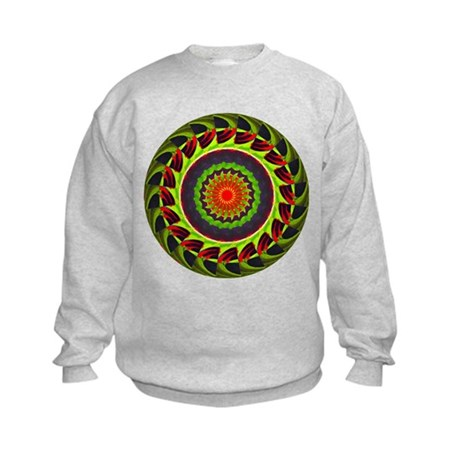 Kaleidoscope 00025 Kids Sweatshirt