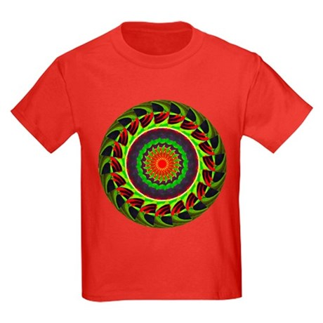 Kaleidoscope 00025 Kids Dark T-Shirt