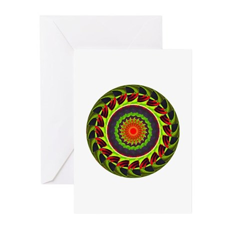Kaleidoscope 00025 Greeting Cards (Pk of 20)
