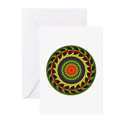 Kaleidoscope 00025 Greeting Cards (Pk of 10)