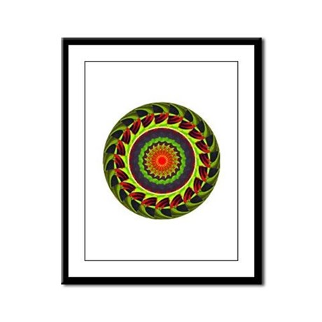 Kaleidoscope 00025 Framed Panel Print