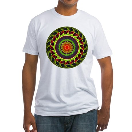 Kaleidoscope 00025 Fitted T-Shirt