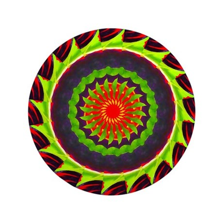 "Kaleidoscope 00025 3.5"" Button (100 pack)"