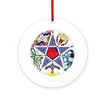 Celtic Pentagram Keepsake (Round)