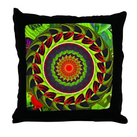 Kaleidoscope 00025 Throw Pillow
