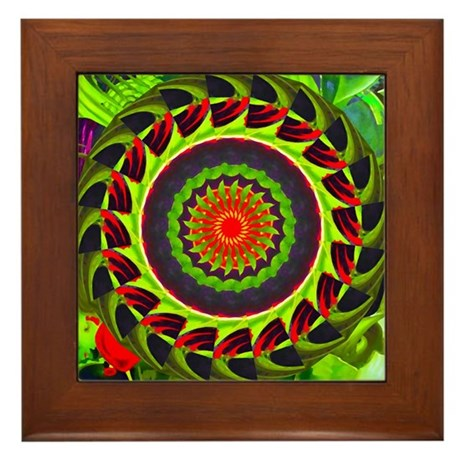 Kaleidoscope 00025 Framed Tile