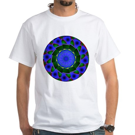 Kaleidoscope 0001 White T-Shirt