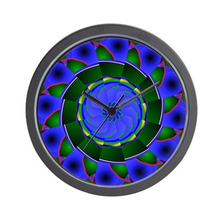 Kaleidoscope 0001 Wall Clock