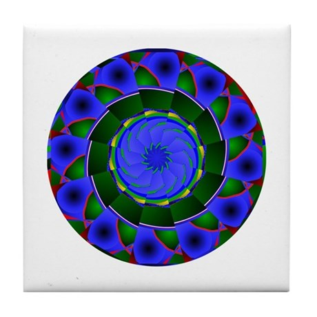 Kaleidoscope 0001 Tile Coaster