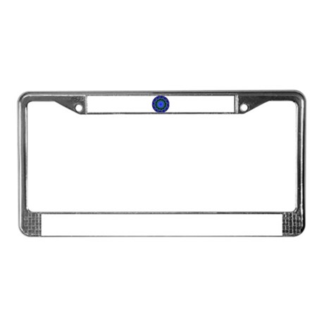 Kaleidoscope 0001 License Plate Frame