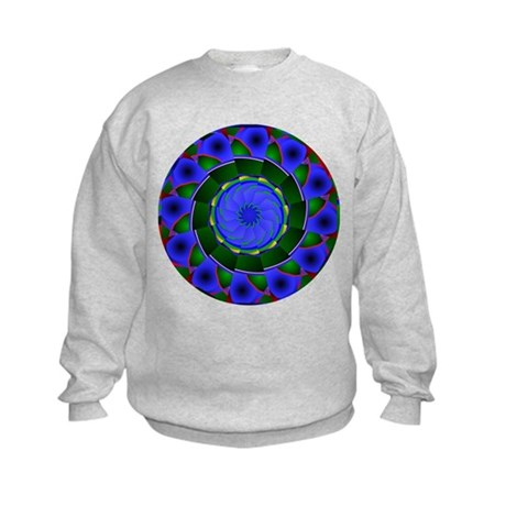 Kaleidoscope 0001 Kids Sweatshirt