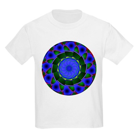 Kaleidoscope 0001 Kids Light T-Shirt