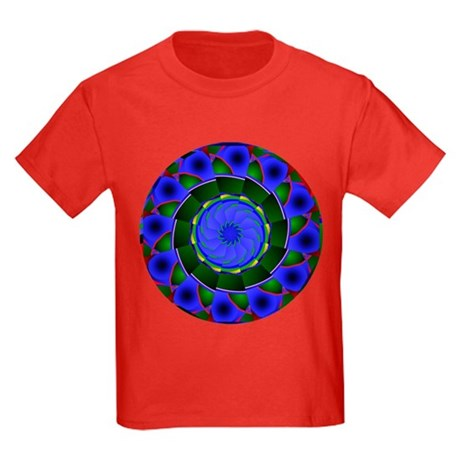 Kaleidoscope 0001 Kids Dark T-Shirt