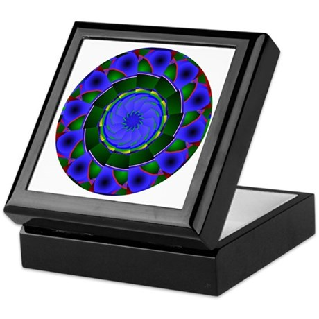 Kaleidoscope 0001 Keepsake Box