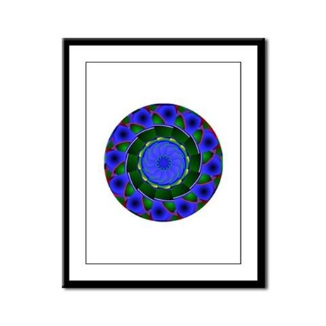 Kaleidoscope 0001 Framed Panel Print