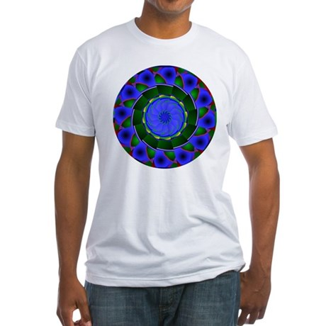 Kaleidoscope 0001 Fitted T-Shirt
