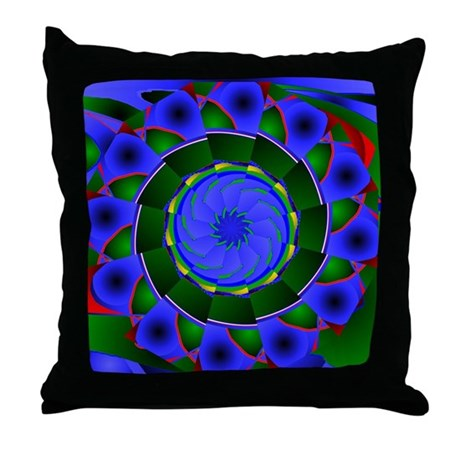 Kaleidoscope 0001 Throw Pillow