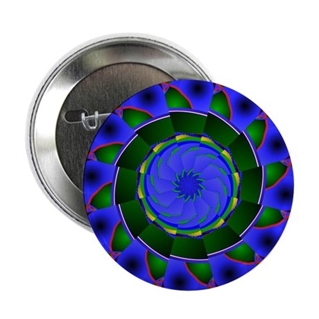 "Kaleidoscope 0001 2.25"" Button (10 pack)"