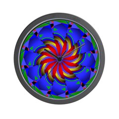 Kaleidoscope 0002 Wall Clock