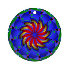 Kaleidoscope 0002 Ornament (Round)