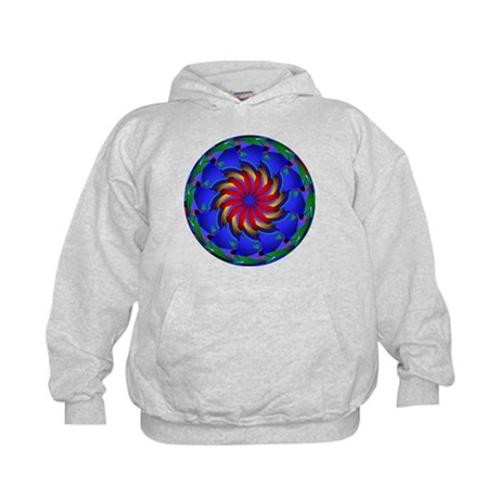 Kaleidoscope 0002 Kids Hoodie