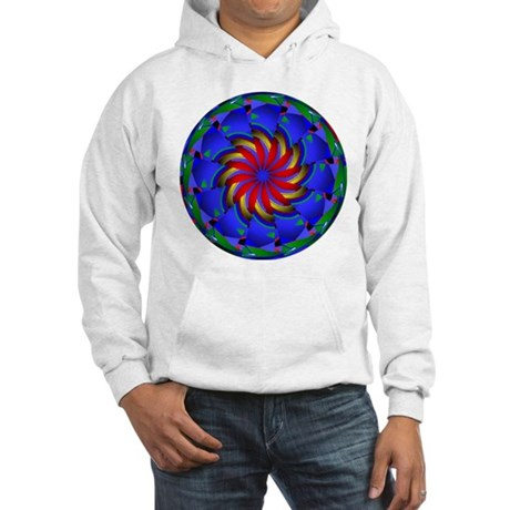 Kaleidoscope 0002 Hooded Sweatshirt