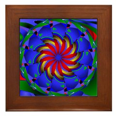 Kaleidoscope 0002 Framed Tile