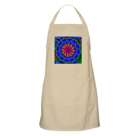 Kaleidoscope 0002 BBQ Apron
