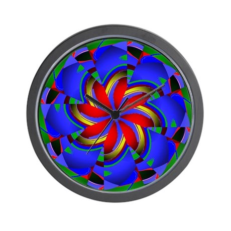 Kaleidoscope 0003 Wall Clock