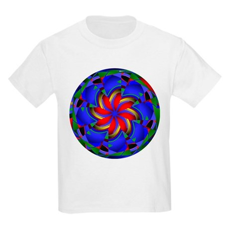 Kaleidoscope 0003 Kids Light T-Shirt
