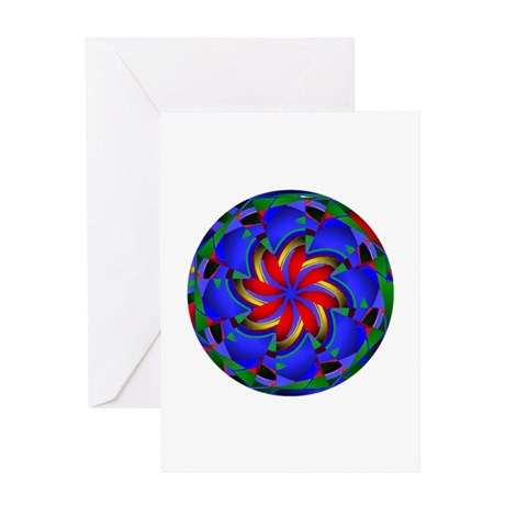 Kaleidoscope 0003 Greeting Card