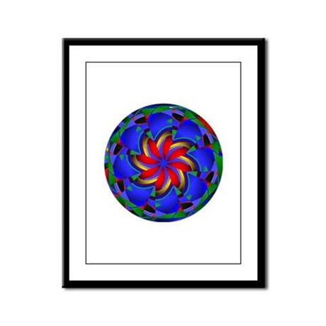 Kaleidoscope 0003 Framed Panel Print